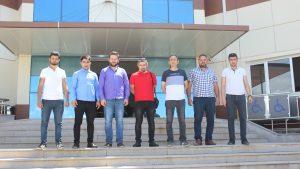 Tokat Merkez okullarından Topçubağı ilköğretim okulu öğretmenleri Teknopark'ımızı ziaret etti.