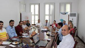 Sanayi ve Teknoloji Bakanlığına bağlı kuruluşların Koordinasyon toplantısı OKA Koordinatörlüğünde yapıldı.