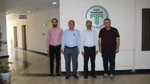 Sanayi ve Teknoloji Bakanlığı uzmanı Sayın Turgut DEVECİ Teknoparkımızı ziyaret etti.