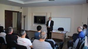 Tokat ve ilçelerinde görev yapan öğretmenlerimize FSMH kapsamında eğitim verildi.