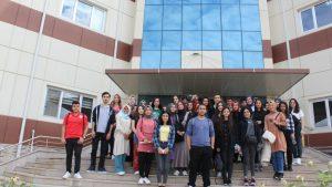 Yabancı Diller Yüksek okulu öğrencileri kurumumuzu ziyaret etti.