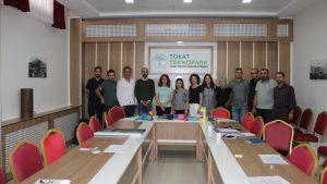 OKA tarafından desteklenen Tasarım odaklı düşünme 1.grup eğitimi haftasonu Tokat Teknopark toplantı salonunda düzenlendi.