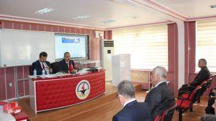 Tokat İl Milli Eğitim Müdürlüğü tarafından düzenlenen toplantıya Teknopark olarak katılım sağladık.