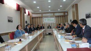KÜSİ İl Koordinasyon Toplantısı Tokat Teknopark  Toplantı Salonunda Yapıldı.