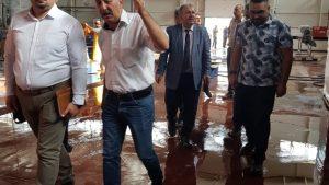 Kamu Üniversite Sanayi İşbirliği kapsamında Kazova Gıda İthalat İhracat İnşaat Turizm Limited Şirketini ziyaret ettik. Ziyaret Sayın Milletvekilimiz Kadim Durmaz'ın teşrifleriyle gerçekleştirildi.