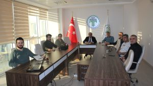 Tokat Gaziosmanpaşa Üniversitesi Teknoloji Transfer Ofisi toplantısı Teknopark toplantı salonunda yapıldı.