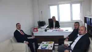 Orta Karadeniz İşbirliği Platformu Başkanı Sayın Abdurrahman KARATAŞ kurumumuzu ziyaret etti.
