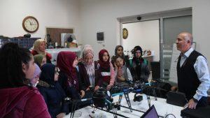 Tokat M. Emin Saraç Anadolu İmam Hatip Lisesi Proje Orta Okulu Öğrencileri Teknoparkımızı ziyaret etti.