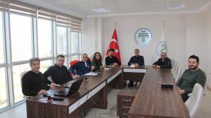 TOGÜ TTO Toplantısı Teknopark toplantı salonunda yapıldı.