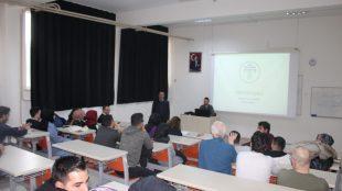 Tokat Gaziosmanpaşa Üniversitesi Eğitim Fakültesi öğrencilerine yönelik seminer düzenlendi.