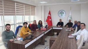 Tokat Gaziosmanpaşa Üniversitesi Teknoloji Transfer Ofisi toplantısı Tokat Teknopark toplantı salonunda yapıldı.