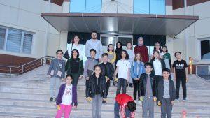 Tokat Bilim ve sanat Merkezi ( BİLSEM ) okulu Teknoparkımızı ziyaret etti.