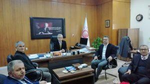 Teknopark ve TTO olarak Ticaret İl Müdürü Syn. Ali Osman SAKAR'ı ziyaret ettik.