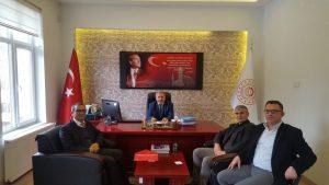 Tokat sanayi ve Teknoloji İl Müdürü Syn. Halil İbrahim YÜKSEL ziyaret edildi.