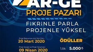 TOGÜ 2. Ar-Ge Proje Pazarı Proje Başvuruları 20 Mart Tarihine Uzatıldı!