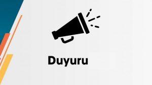 DUYURU!