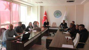 Tokat Teknopark toplantı salonunda Bireysel Genç Girişimci (BİGG) Kapsamında iş planı ve değerlendirme toplantısı yapıldı.