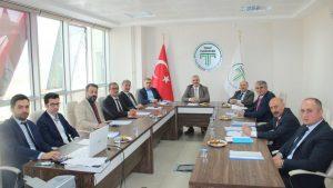 Tokat Teknopark Genel Kurul toplantısı Prof.Dr. İsa GÖKÇE tarafından açıldı.