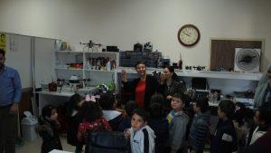 Tokat Merkeze bağlı 18 Mart İlkokulunun Anaokulu öğrencileri Teknoparkı ziyaret etti.