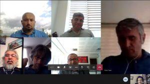Tokat Gaziosmanpaşa Üniversitesi Teknoloji Transfer Ofisi toplantısı