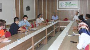 Orta Karadeniz İşbirliği Platformu (OKİP) Başkanı Sayın Abdurrahman KARATAŞ Kurumumuzu ziyaret etti.