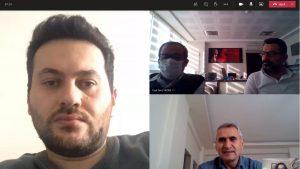 Tokat Gaziosmanpaşa Üniversitesi Teknoloji Transfer Ofisi Koordinatörlüğü haftalık geleneksel toplantısı Microsoft Teams programı ile sanal ortamda gerçekleştirilmiştir.