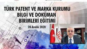 Türk Patent ve Marka Kurumu Bilgi ve Doküman Birimleri Eğitimi