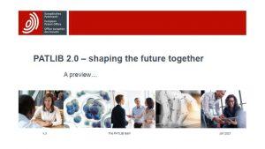 Avrupa Patent Ofisi (EPO) Bilgi Merkezleri (PATLIB) 2.0 projesi kapsamında 3. toplantı online olarak yapılmıştır. Toplantıya, Üniversitemizi temsilen FSMH Uzm. Ali Erdi CANDAR katılmıştır.