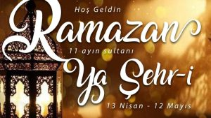 Hoş Geldin 11 Ayın Sultanı Ya Şehr-i Ramazan 🌸