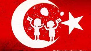 23 Nisan Ulusal Egemenlik ve Çocuk Bayramı Kutlu ve Mutlu Olsun 🇹🇷