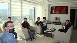 Sivas İŞGEM kurumumuzu ziyaret etti.